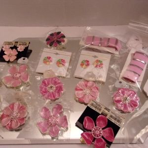 EARRINGS BRACELETS & BROOCHES/PENDANTS RETAIL $184